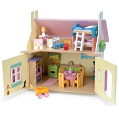 Le Toy Van Lily's Cottage W/Furniture Img 1 - Toyworld