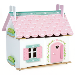 Le Toy Van Lily's Cottage W/Furniture - Toyworld