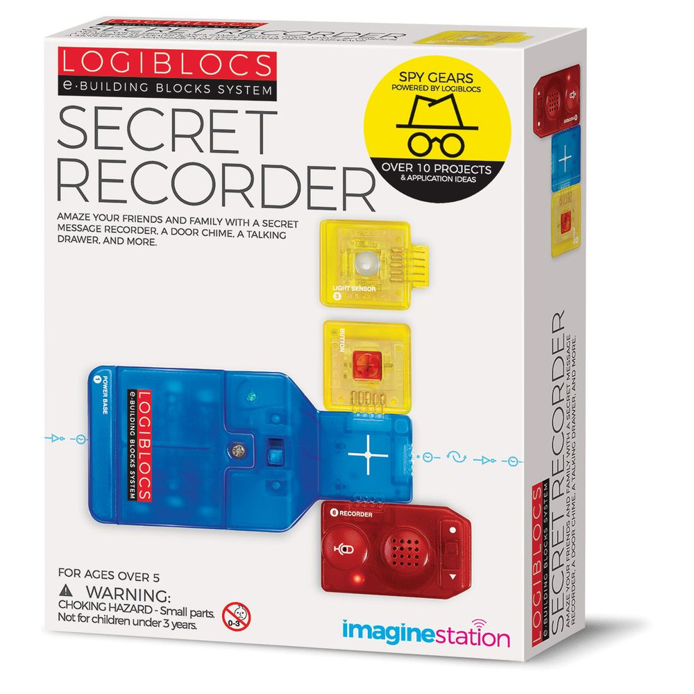 Logiblocs Secret Recorder - Toyworld