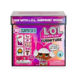 LOL SURPRISE FURNITURE PACK WITH DOLL BEAUTY SALON
