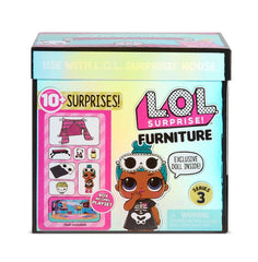 LOL SURPRISE FURNITURE PACK WITH DOLL SLEEPOVER