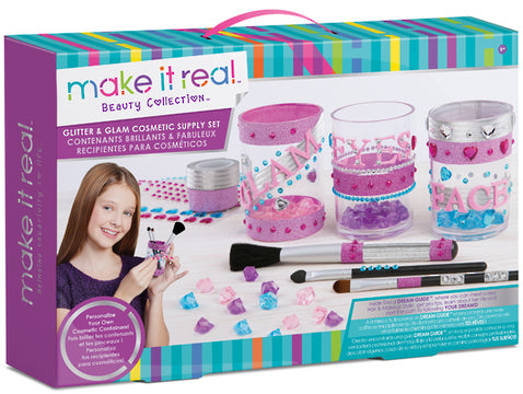 MAKE IT REAL GLITTER & GLAM COSMETIC SUPPLY SET