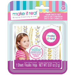 MAKE IT REAL HAIR DECO SET PINK