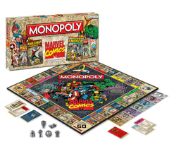 Monopoly Marvel Comics Books Edition - Toyworld