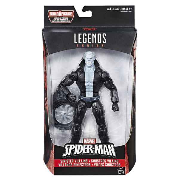 "MARVEL SPD 6"" INFINITE LEGENDS SERIES FIGURE MARVEL'S SINISTER VILLIANS TOMBSTONE"