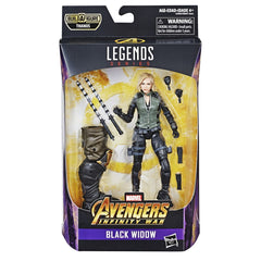 "MARVEL AVENGERS BEST OF 6"" LEGENDS FIGURE BLACK WIDOW"