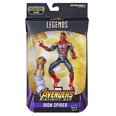 "MARVEL AVENGERS BEST OF 6"" LEGENDS FIGURE IRON SPIDER"