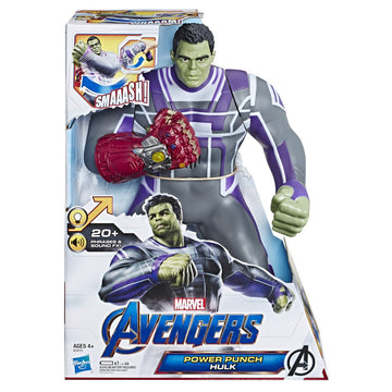 Marvel Avengers Power Punch Hulk - Toyworld