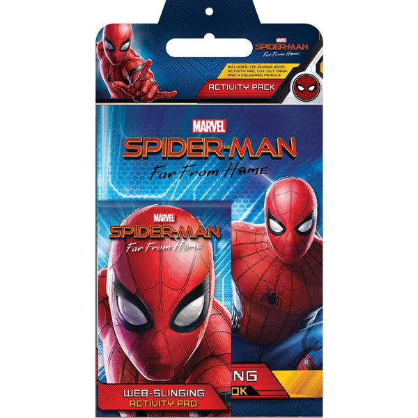 MARVEL SPIDERMAN ACTIVITY PACK