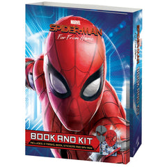MARVEL SPIDERMAN BOOK & KIT