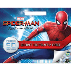 MARVEL SPIDERMAN FAR FROM HOME GIANT ACTIVITY PAD