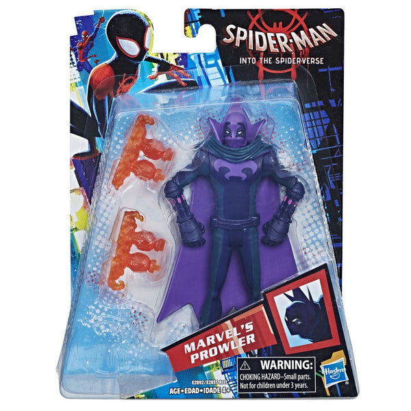 "MARVEL SPIDERMAN MOVIE 6"" FIGURE MARVEL'S PROWLER"