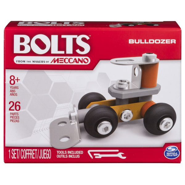 MECCANO BOLTS MINI VEHICLES BULLDOZER