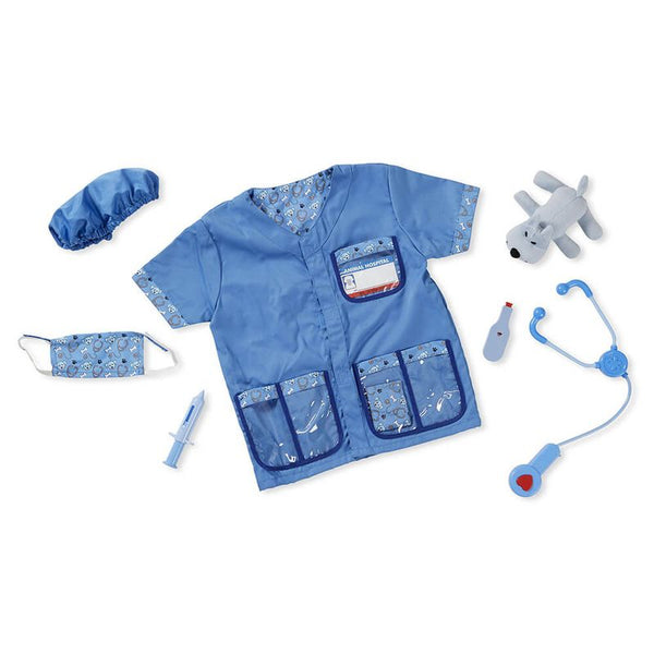 MELISSA & DOUG VETERINARIAN ROLE PLAY SET - Toyworld NZ