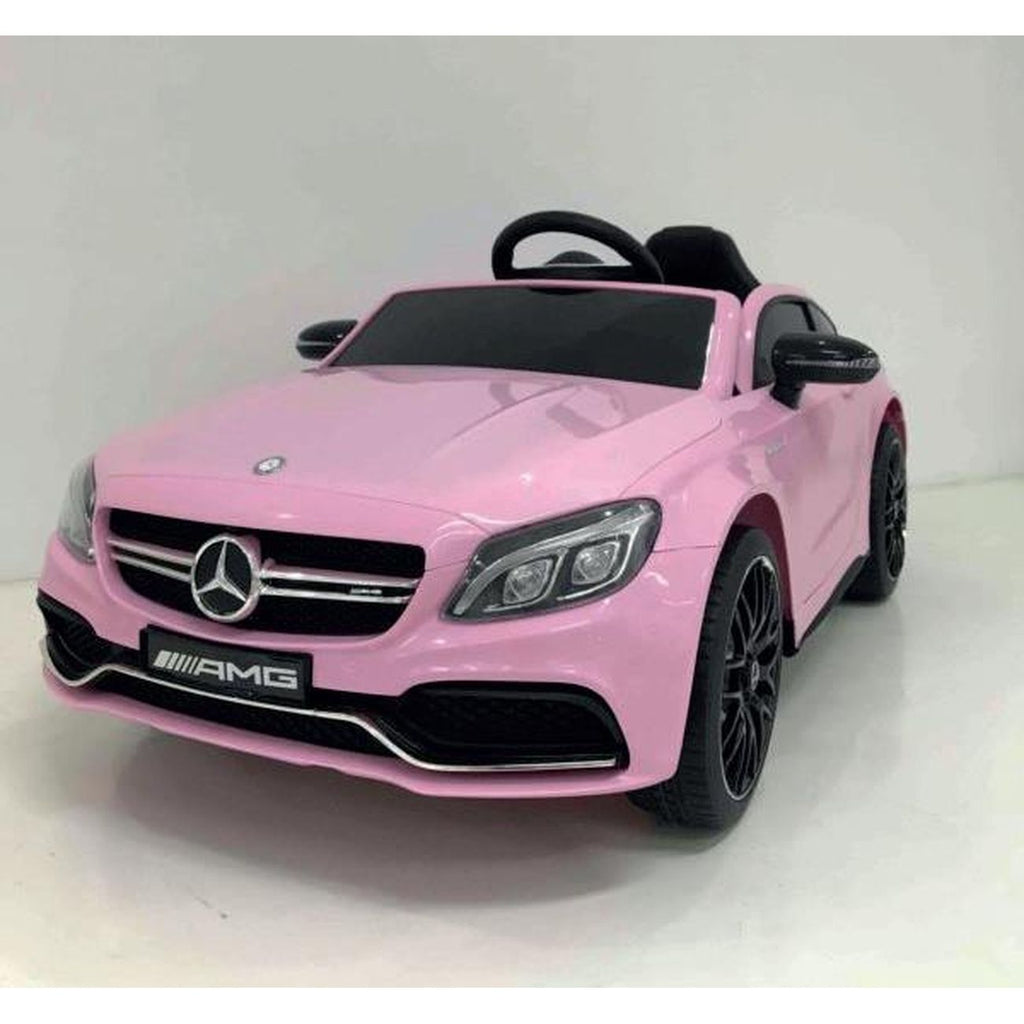 MERCEDES C63 PINK 12V 2WD RIDE-ON