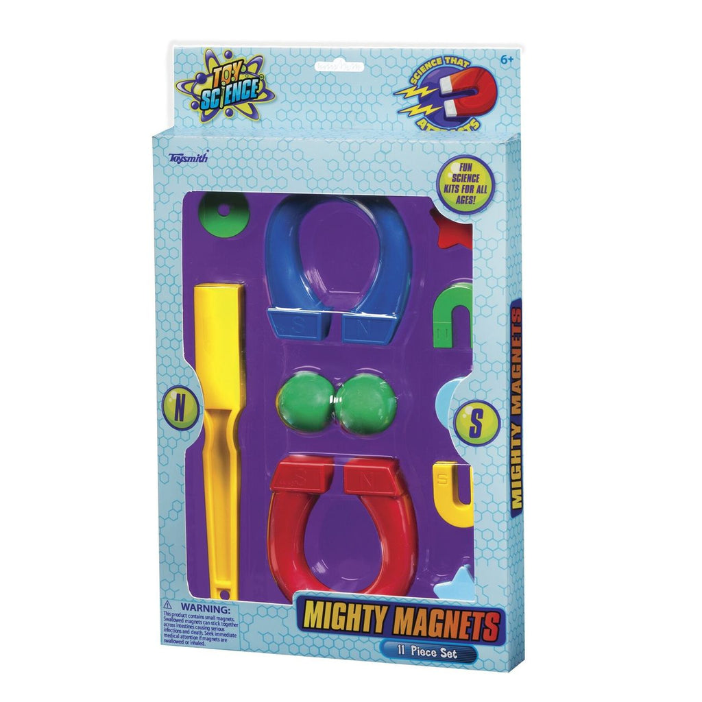 Mighty Magnets 11 Piece Set - Toyworld