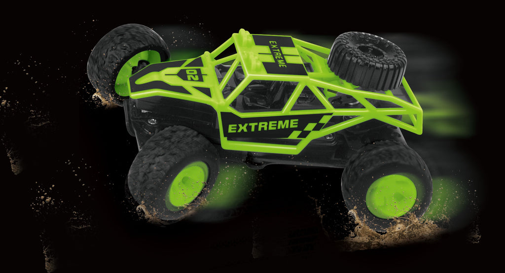 MINI HIGH SPEED RC OFFROAD CAR ASSORTED STYLES