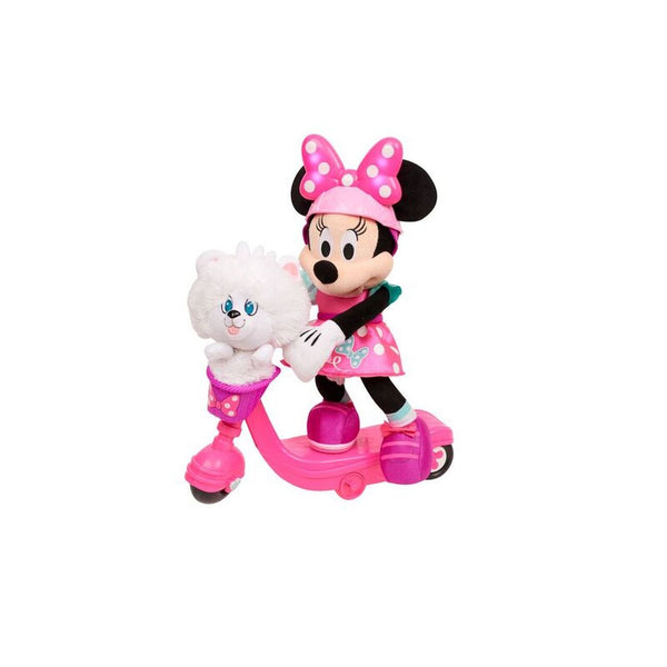 Disney Minnie Mouse Sing & Spin Scooter Minnie - Toyworld