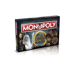 Monopoly Lord of the Rings Trilogy Edition - Toyworld