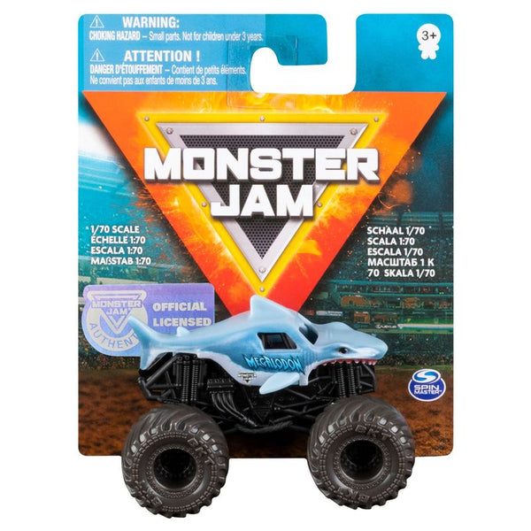 Monster Jam Value Single Pack Megalodon - Toyworld