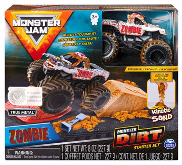 Monster Jam Monster Dirt Starter Set Zombie - Toyworld