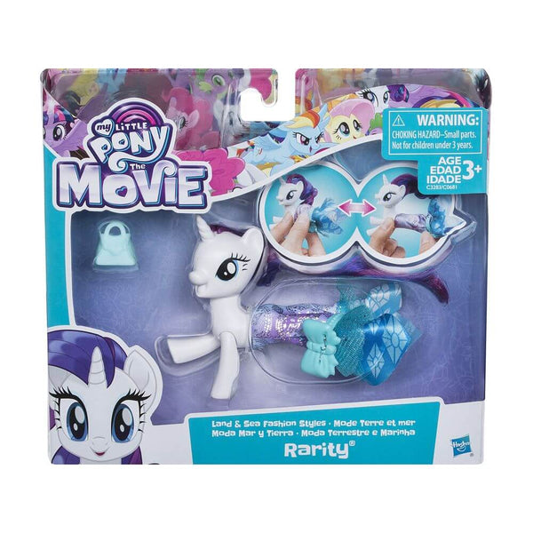 MY LITTLE PONY THE MOVIE LAND & SEA FASHION STYLES RARITY