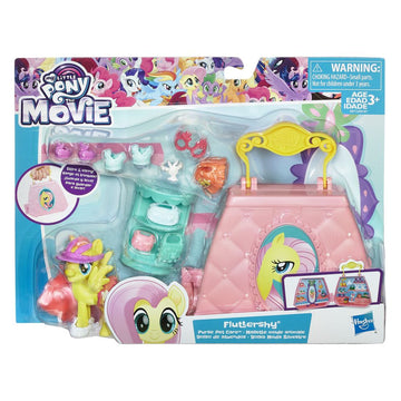 My Little Pony the Movie Fluttershy Purse Pet Care Playset - Toyworld
