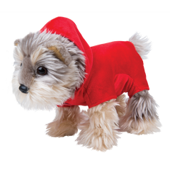 MY PUPPY PARADE OUTFIT RED HOODIE