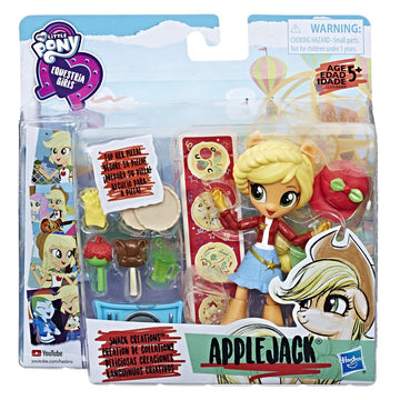 Mlp Equestria Girls Minis Applejack Snack Creations - Toyworld