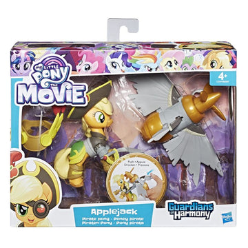 My Little Pony Guardians of Harmony Good Vs Evil Applejack Pirate Pony - Toyworld