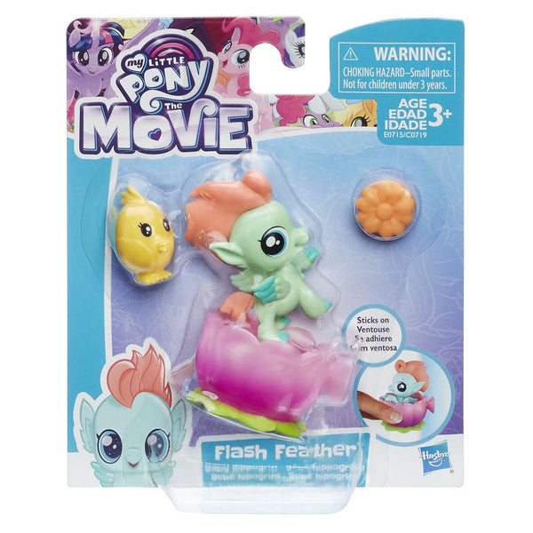 MY LITTLE PONY THE MOVIE BABY SEAPONY MINIFIGURE FLASH FEATHER