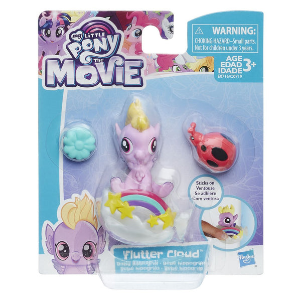 MY LITTLE PONY THE MOVIE BABY SEAPONY MINIFIGURE FLUTTER CLOUD