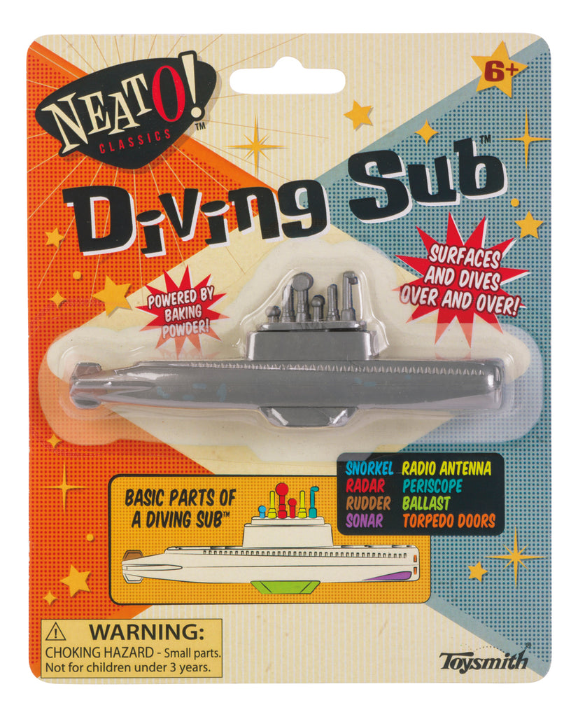 Neato! Classics Diving Submarine - Toyworld