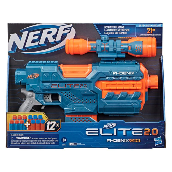 Nerf Elite Phoenix Cs 6 - Toyworld