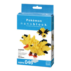 Nanoblock Pokemon Zapdos Img 1 - Toyworld