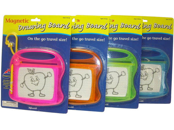 NEON MAGNETIC DRAWING BOARD ASSORTED STYLES
