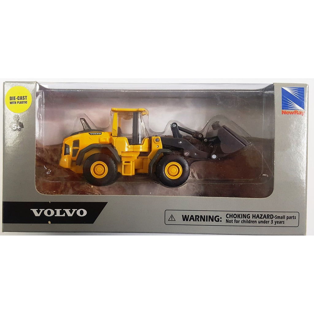 NEWRAY VOLVO DIE CAST CONSTRUCTION VEHICLE WHEEL LOADER
