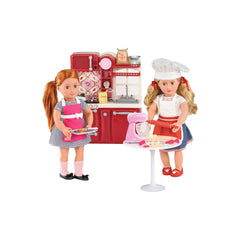 OUR GENERATION DELUXE ACCESSORY SET MASTER BAKER SET