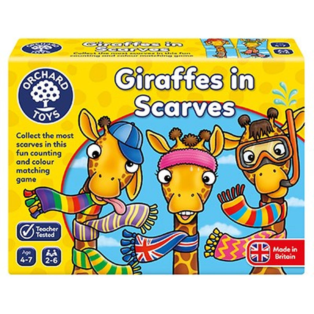 Orchard Toys Giraffes in Scarves Game - Toyworld