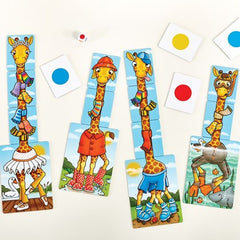 Orchard Toys Giraffes in Scarves Game Img 1 - Toyworld
