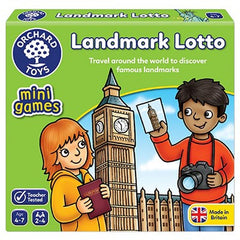 Orchard Toys Landmark Lotto Mini Game - Toyworld