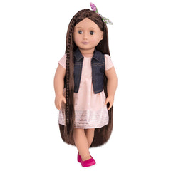 "OUR GENERATION 18"" HAIRGROW DOLL KAELYN"