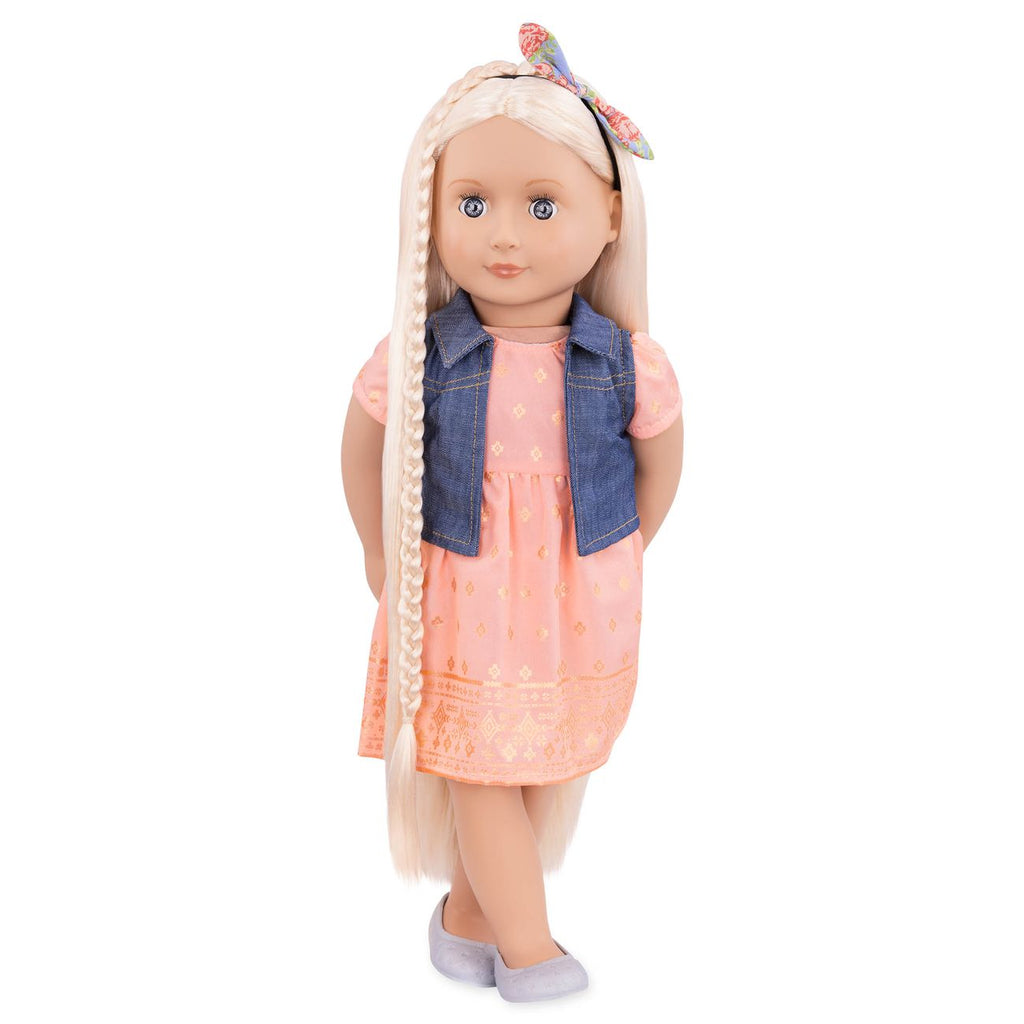 "OUR GENERATION 18"" HAIRGROW DOLL LYRA"