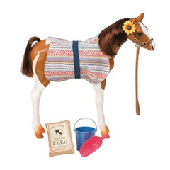 OUR GENERATION HORSE PINTO PASO FINO FOAL FOR 18 INCH DOLL