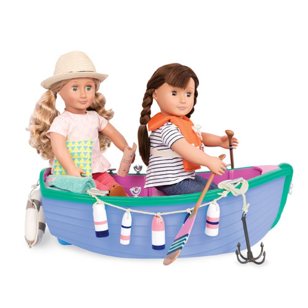 Our Generation Row Your Boat Large Row Boat Set - Toyworld