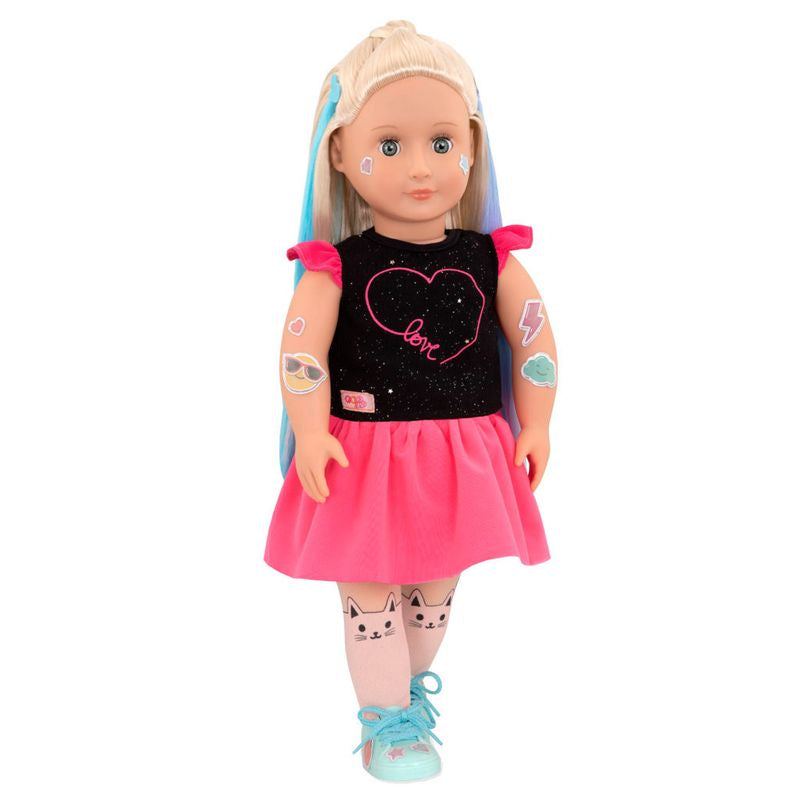 Our Generation Glitter Tattoo Doll Luana - Toyworld