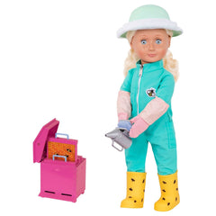 "OUR GENERATION 18"" PROFESSIONAL DOLL BEEKEEPER CASSIDY"