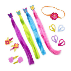 OUR GENERATION ATTACHED AT THE CLIP HAIR ACCESSORY SET