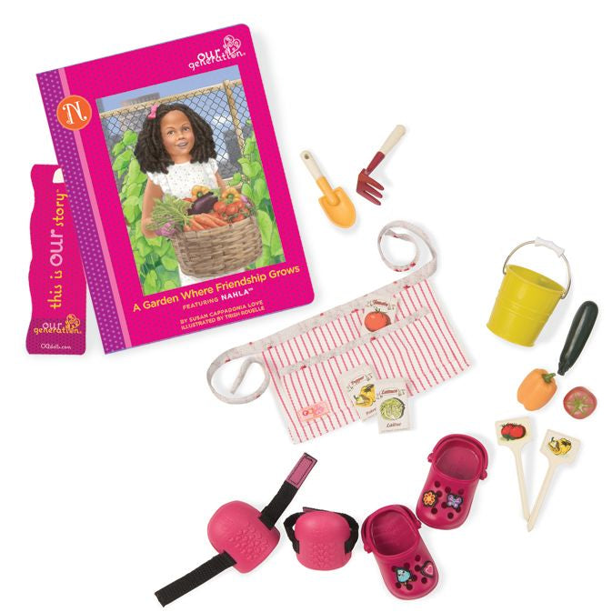 OUR GENERATION NAHLA'S READ & PLAY SET