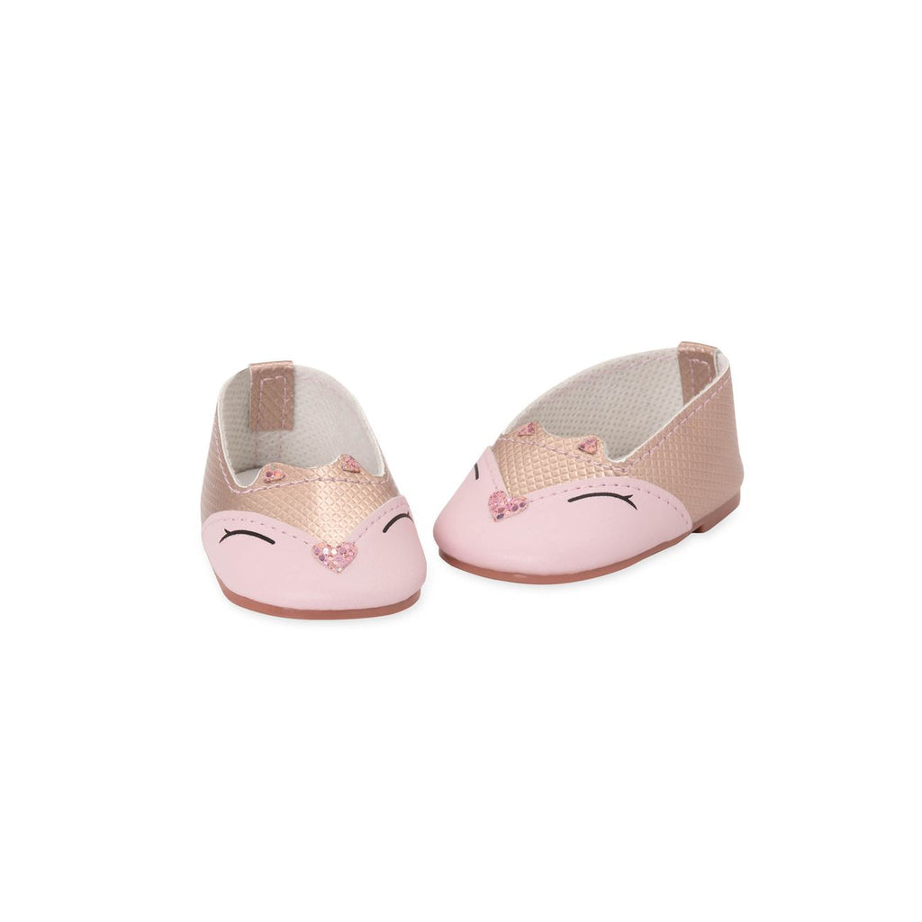 Our Generation Shoes for Doll Pink Kitty - Toyworld